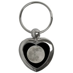 Close To The Full Moon Key Chains (heart)