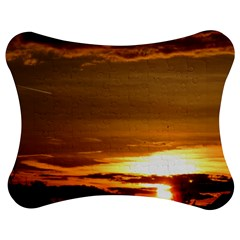 Summer Sunset Jigsaw Puzzle Photo Stand (Bow)