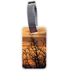 Colorful Sunset Luggage Tags (two Sides)