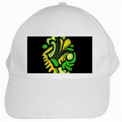 Yellow and green spot White Cap
