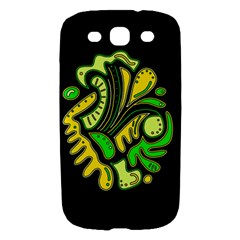 Yellow and green spot Samsung Galaxy S III Hardshell Case