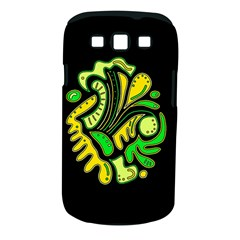 Yellow and green spot Samsung Galaxy S III Classic Hardshell Case (PC+Silicone)