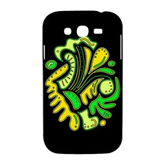 Yellow and green spot Samsung Galaxy Grand DUOS I9082 Hardshell Case