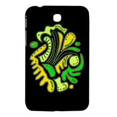 Yellow and green spot Samsung Galaxy Tab 3 (7 ) P3200 Hardshell Case
