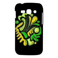 Yellow and green spot Samsung Galaxy Ace 3 S7272 Hardshell Case