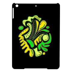 Yellow and green spot iPad Air Hardshell Cases
