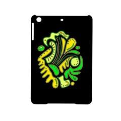 Yellow and green spot iPad Mini 2 Hardshell Cases