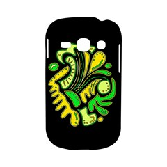 Yellow and green spot Samsung Galaxy S6810 Hardshell Case
