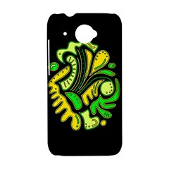 Yellow and green spot HTC Desire 601 Hardshell Case
