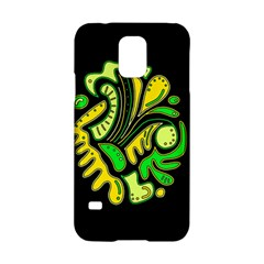 Yellow and green spot Samsung Galaxy S5 Hardshell Case
