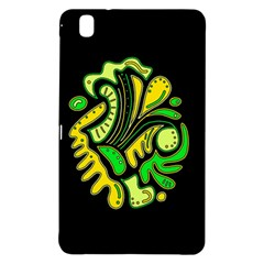 Yellow and green spot Samsung Galaxy Tab Pro 8.4 Hardshell Case