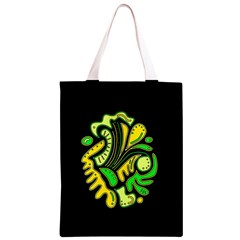 Yellow and green spot Classic Light Tote Bag