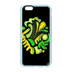 Yellow and green spot Apple Seamless iPhone 6/6S Case (Color)