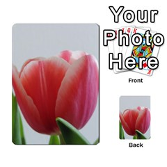 Red Tulips Multi Purpose Cards (rectangle)