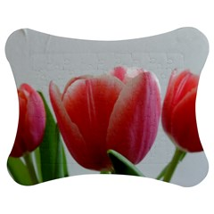 Red Tulips Jigsaw Puzzle Photo Stand (bow)