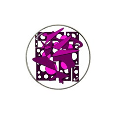 Something purple Hat Clip Ball Marker (10 pack)