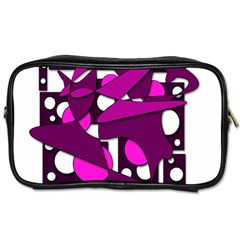 Something purple Toiletries Bags 2-Side
