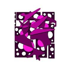 Something purple Shower Curtain 48  x 72  (Small)