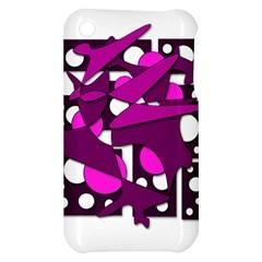 Something purple Apple iPhone 3G/3GS Hardshell Case