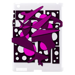 Something purple Apple iPad 3/4 Hardshell Case (Compatible with Smart Cover)