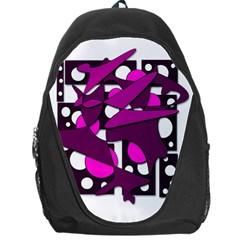 Something purple Backpack Bag