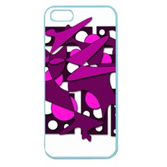 Something purple Apple Seamless iPhone 5 Case (Color)