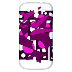 Something purple Samsung Galaxy S3 S III Classic Hardshell Back Case