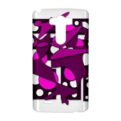 Something purple LG G3 Hardshell Case