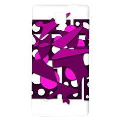 Something purple Galaxy Note 4 Back Case