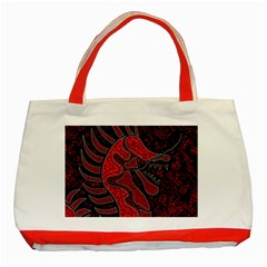 Red dragon Classic Tote Bag (Red)