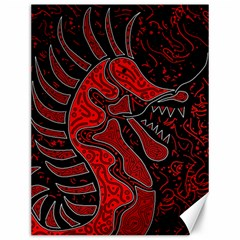 Red dragon Canvas 12  x 16
