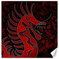Red dragon Canvas 20  x 20
