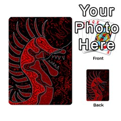 Red dragon Multi-purpose Cards (Rectangle)