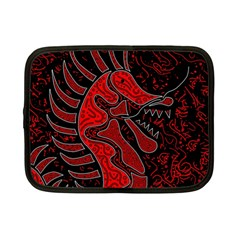 Red dragon Netbook Case (Small)