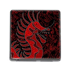 Red dragon Memory Card Reader (Square)