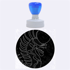 Red dragon Rubber Round Stamps (Large)