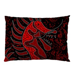 Red dragon Pillow Case (Two Sides)