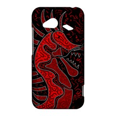 Red dragon HTC Droid Incredible 4G LTE Hardshell Case