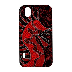 Red dragon LG Optimus P970