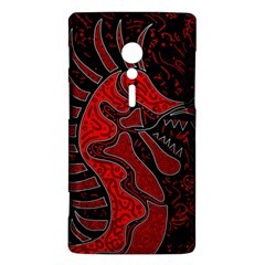 Red dragon Sony Xperia ion