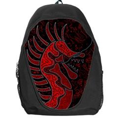Red dragon Backpack Bag