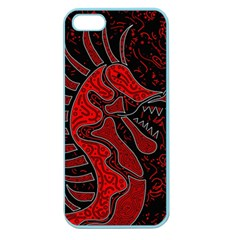 Red dragon Apple Seamless iPhone 5 Case (Color)