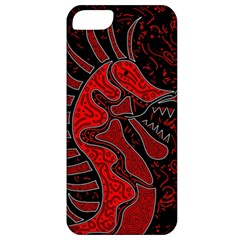 Red dragon Apple iPhone 5 Classic Hardshell Case