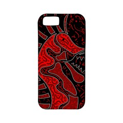 Red dragon Apple iPhone 5 Classic Hardshell Case (PC+Silicone)