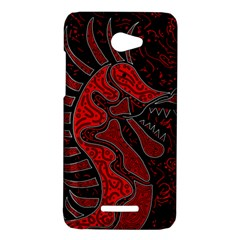Red dragon HTC Butterfly X920E Hardshell Case