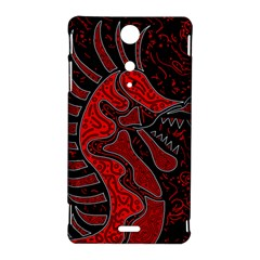 Red dragon Sony Xperia TX