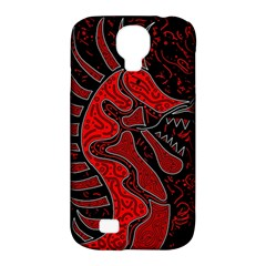 Red dragon Samsung Galaxy S4 Classic Hardshell Case (PC+Silicone)