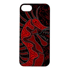 Red dragon Apple iPhone 5S/ SE Hardshell Case