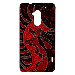 Red dragon HTC One Max (T6) Hardshell Case