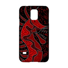 Red dragon Samsung Galaxy S5 Hardshell Case